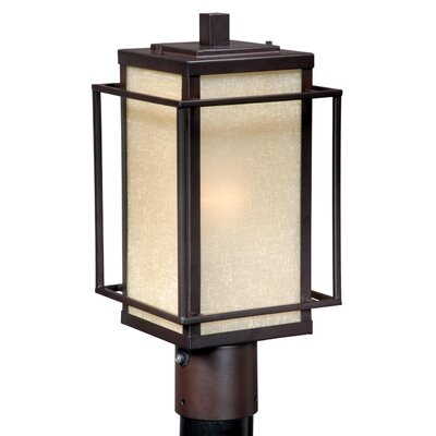 Vaxcel Robie 1 Light Outdoor Post Lantern
