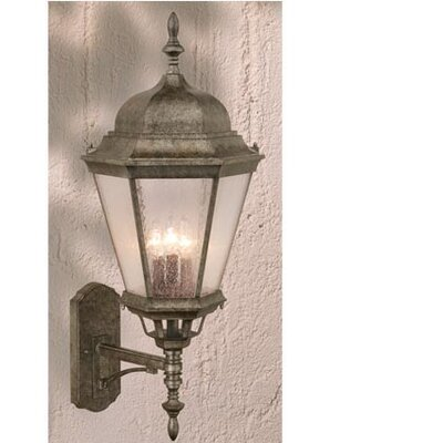 Vaxcel Birchard 3 Light Outdoor Wall Lantern