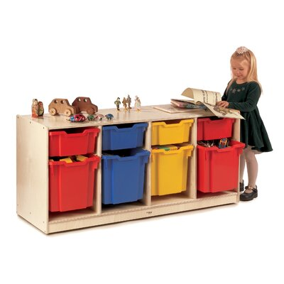 Whitney Brothers 4 Compartment Cubby
