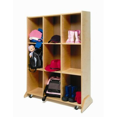 Whitney Brothers 9 Compartment Cubby