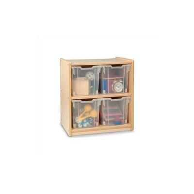 Whitney Brothers Jumbo 2 Compartment Cubby