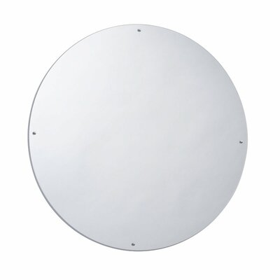 "Whitney Brothers 23"" H x 23"" W Circle Mirror"