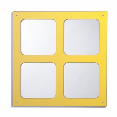 Whitney Brothers Window Square Mirror
