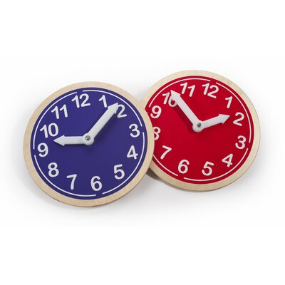 Whitney Brothers What Time is it? Wall Clock