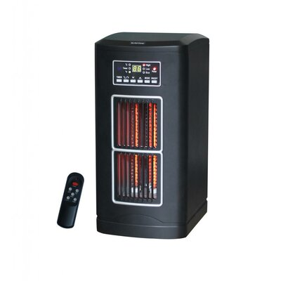 Lifesmart Infrared Cabinet Electric Space Heater with Remote