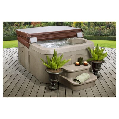 Lifesmart Lifesmart Rock Solid Simplicity Plug and Play Spa w/12 Jets Includes FREE Energy Savings Value & Performance Package