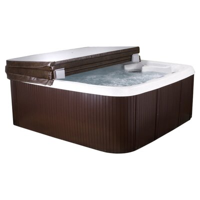 Lifesmart Lifesmart DLX Series 2 Rock Solid Hydromaster 7 Person Spa with 65 Jets Includes FREE Energy Savings Value & Performance Package