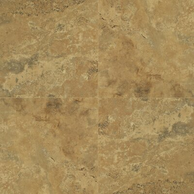 Quadra Natural Stone 8mm Tile Laminate in Sandy Beige