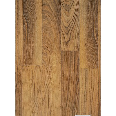 Classic 8mm Chestnut Laminate in Chestnut Double Plank