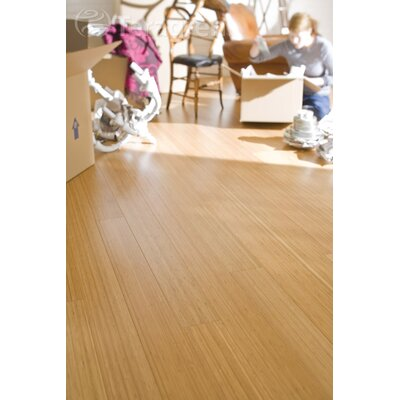 "Teragren Craftsman II 5-1/2"" Vertical Bamboo Flooring in Caramelized"