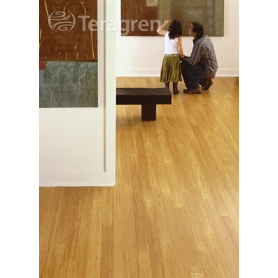 "Teragren Synergy 7-11/16"" Engineered Self-Locking Bamboo in Wheat"