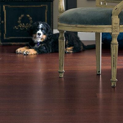 "Teragren Portfolio 5"" Engineered Self-Locking Bamboo Flooring in Rich Cognac"