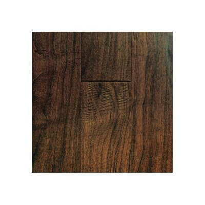 "Mullican Flooring Chalmette Hand Sculpted 5"" Engineered Walnut Flooring in Colonial"