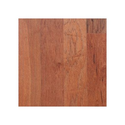 "Anderson Floors Mountain Hickory Rustic 5"" Engineered Hickory Flooring in Musket"
