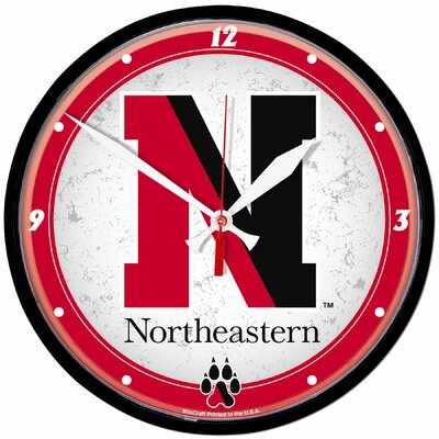 "Wincraft, Inc. NCAA 12.75"" Round Clock"