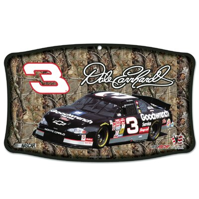 Wincraft, Inc. NASCAR Dale Earnhardt Wood Sign