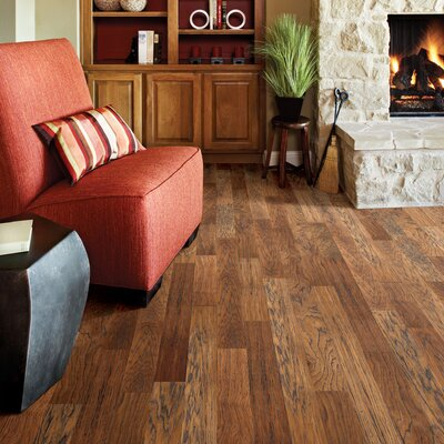 "Appalachian Flooring Piazza 4-1/2"" Engineered Fumed Hickory Flooring in Shadow Light"