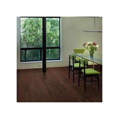 "Appalachian Flooring 0.63"" Red Oak T-Molding in Burnt Umber"
