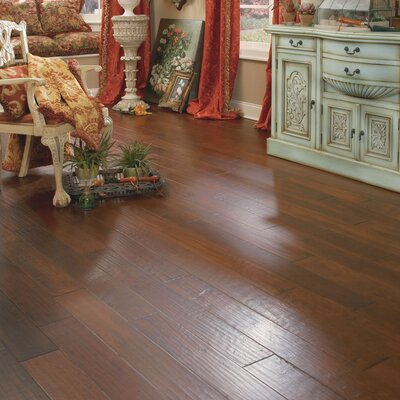 "Appalachian Flooring Casitablanca Handcrafted 5"" Engineered Kupay in Lava"