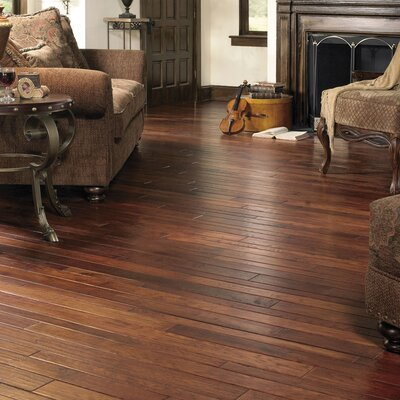 Appalachian Flooring SAMPLE - Colonial Manor Random Width Solid Hickory in Smokehouse