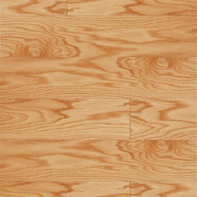 "LM Flooring Lakeside 5"" Engineered Red Oak Flooring in Natural"