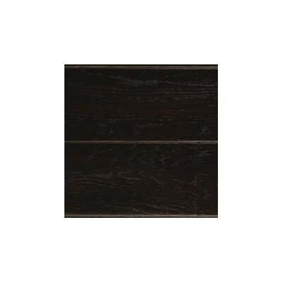 "LM Flooring Bandera 5"" Engineered White Oak Flooring in Midnight"