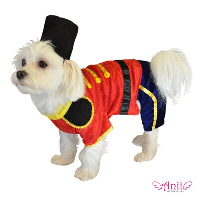 Anit Accessories Toy Soldier Dog Costume