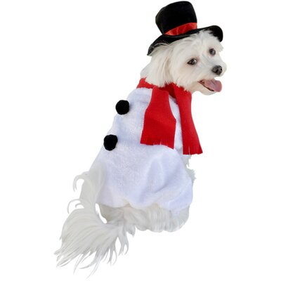 Anit Accessories Snowman Dog Costume