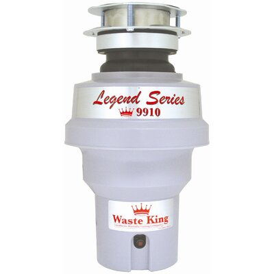 Waste King Legend 1/3 HP Garbage Disposal with Continuous Feed