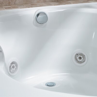 "Jacuzzi® 26"" Rotary PVC Lift and Turn Bath Tub Drain Kit"