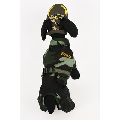 Puppe Love Army Suit Dog Costume