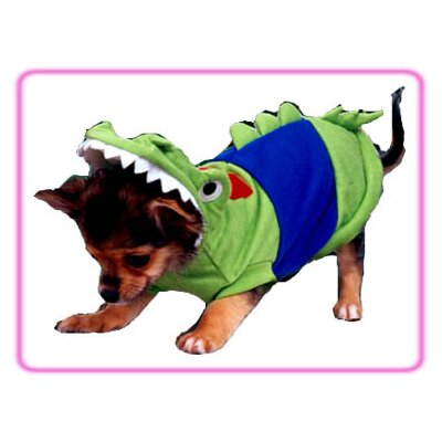 Puppe Love Crocodile Dog Costume