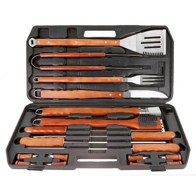Mr. Bar-B-Q Gourmet Tool Set (Set of 18)