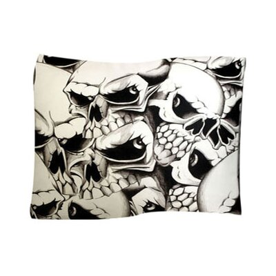 Dogzzzz Skulls Pet Throw