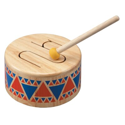 Plan Toys Preschool Solid Drum