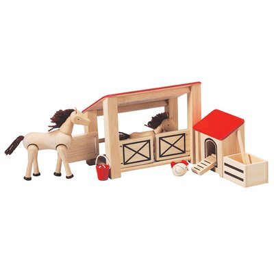 Plan Toys Dollhouse Stable