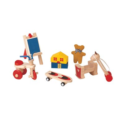 Plan Toys Dollhouse Fun Toys Set