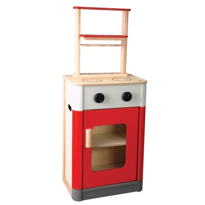 Plan Toys Large Scale Kitchen Set in Red