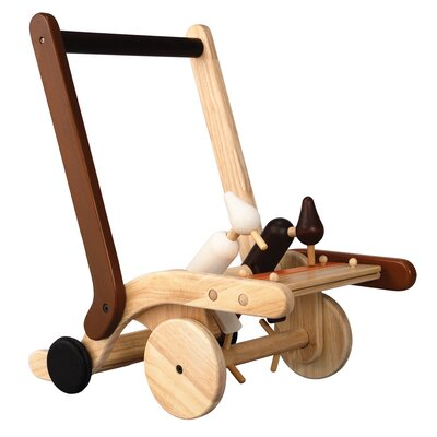 Plan Toys Preschool Woodpecker Walker