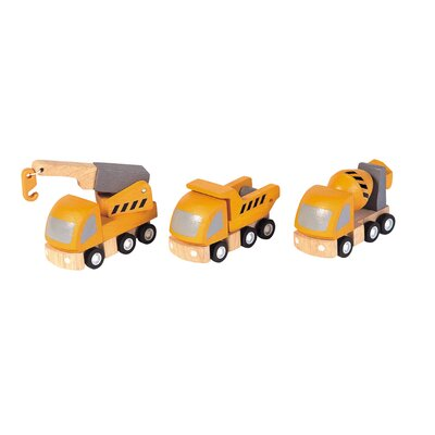 Plan Toys City Highway Maintenance Vehicle Set