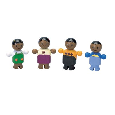 Plan Toys City Family Ethnic Dolls