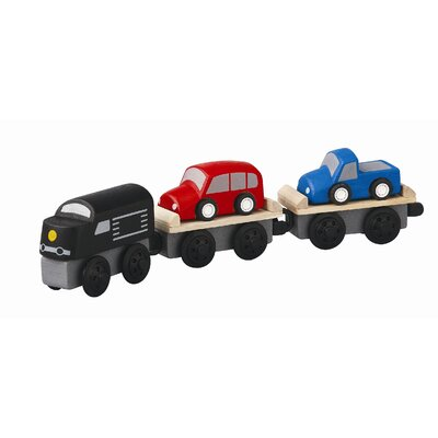 Plan Toys Car Carrier Train