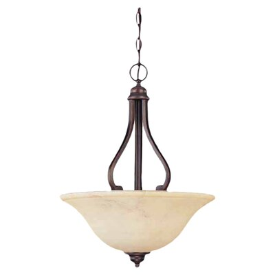 Nuvo Lighting Anastasia 3 Light Inverted Pendant