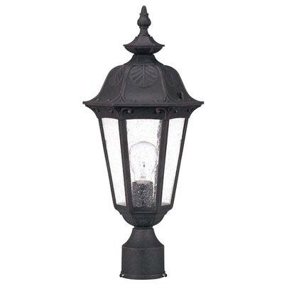 Nuvo Lighting Cortland 1 Light Post Lantern
