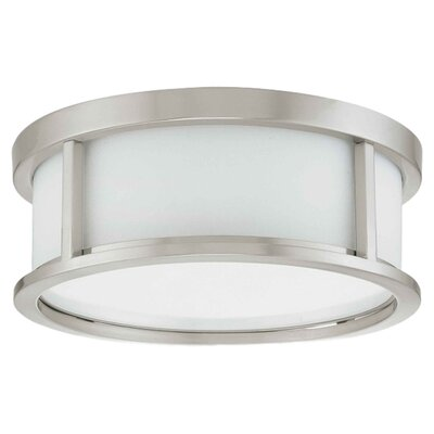 <strong>Nuvo Lighting</strong> Odeon Flush Mount
