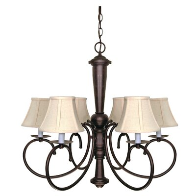 Nuvo Lighting Mericana 6 Light Chandelier