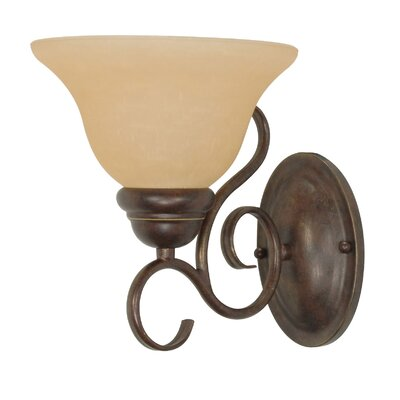 Nuvo Lighting Castillo  Wall Sconce in Sonoma Bronze