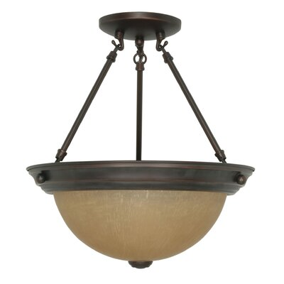 Nuvo Lighting Transitional Semi Flush Mount