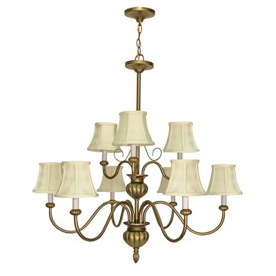 Nuvo Lighting Vanguard 9 Light Chandelier