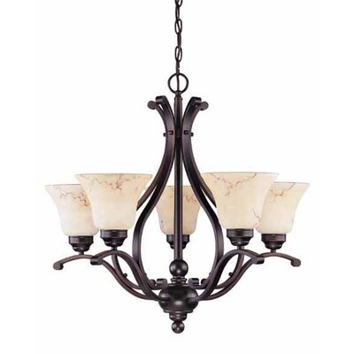 Nuvo Lighting Anastasia 6 Light Chandelier